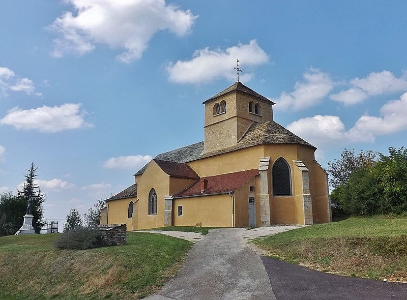 Photo du Monument Historique Eglise situé à Nanc-lès-Saint-Amour