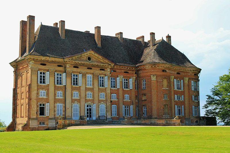 Photo du Monument Historique Château de Neublans situé à Neublans-Abergement
