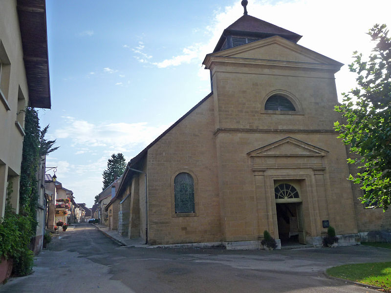 Photo du Monument Historique Eglise Saint-Antoine situé à Nozeroy
