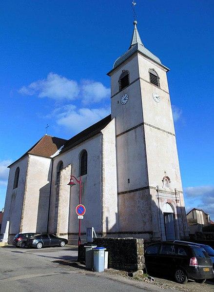 Photo du Monument Historique Eglise de l'Assomption situé à Offlanges