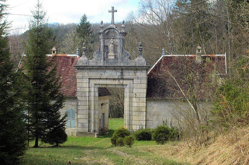 Photo du Monument Historique Chartreuse de Vaucluse situé à Onoz