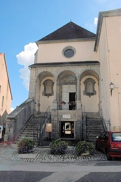 Photo du Monument Historique Chapelle des Bernardines situé à Orgelet