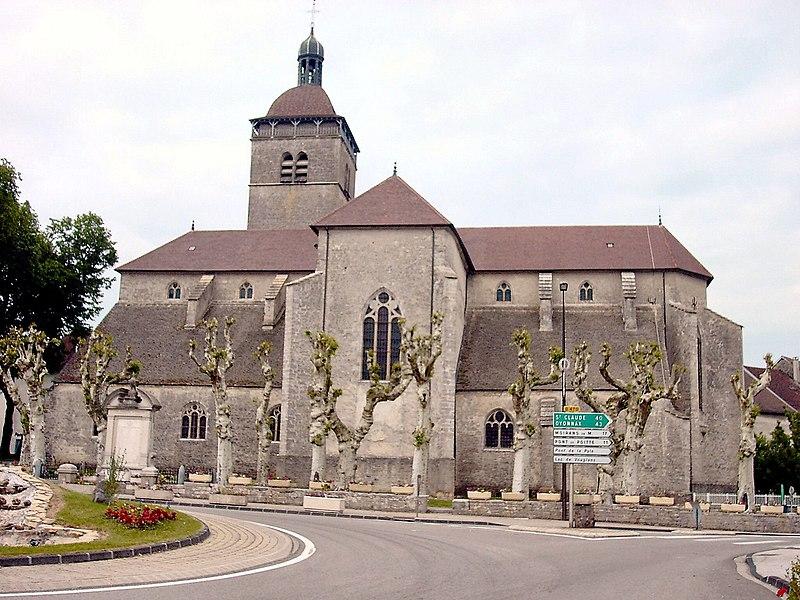 Photo du Monument Historique Eglise Notre-Dame de l'Assomption situé à Orgelet