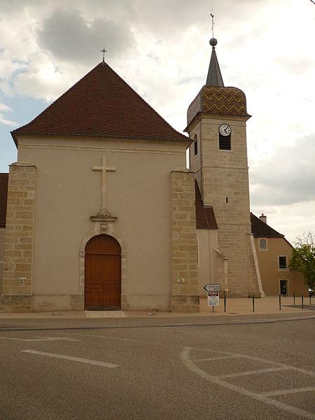 Photo du Monument Historique Eglise situé à Parcey