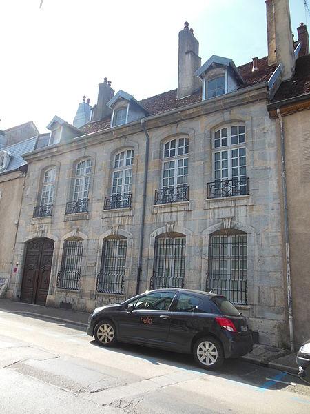 Photo du Monument Historique Maison situé à Poligny