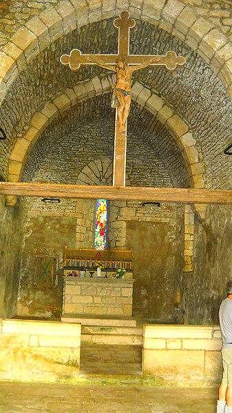 Photo du Monument Historique Chapelle de Saint-Romain-de-Roche situé à Pratz