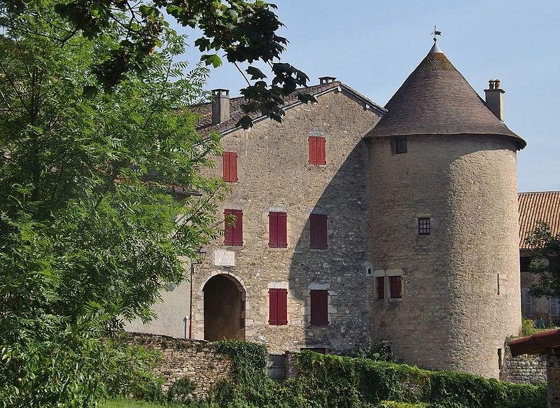 Photo du Monument Historique Tour Saint-Guillaume (ensemble) situé à Saint-Amour