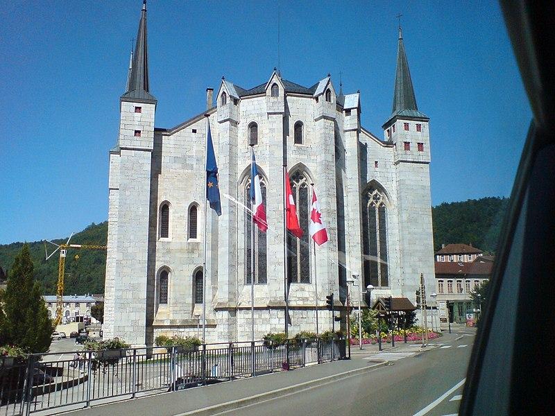 Photo du Monument Historique Cathédrale Saint-Pierre situé à Saint-Claude