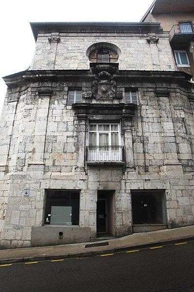 Photo du Monument Historique Chapelle des Carmes situé à Saint-Claude
