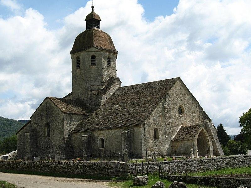Photo du Monument Historique Eglise situé à Saint-Hymetière