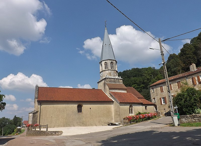 Photo du Monument Historique Eglise situé à Saint-Jean-d'Etreux
