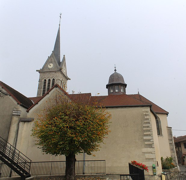 Photo du Monument Historique Eglise situé à Saint-Julien