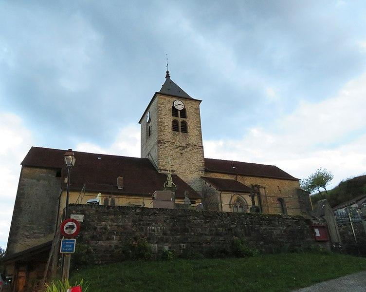 Photo du Monument Historique Eglise Saint-Laurent situé à Saint-Laurent-la-Roche