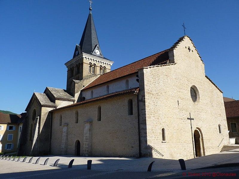 Photo du Monument Historique Eglise Notre-Dame situé à Saint-Lupicin