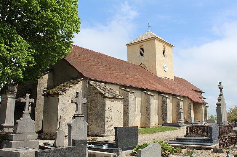 Photo du Monument Historique Eglise situé à Saint-Maur