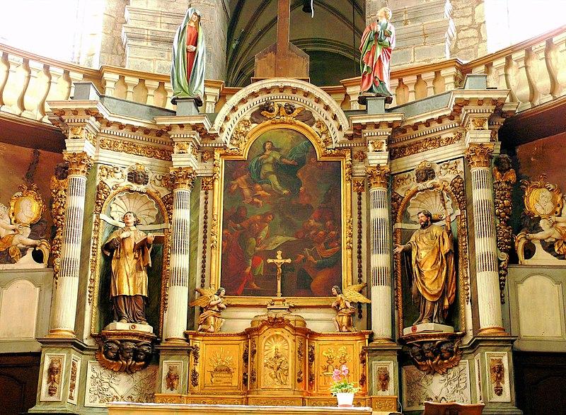 Photo du Monument Historique Chapelle Notre-Dame-la-Libératrice situé à Salins-les-Bains