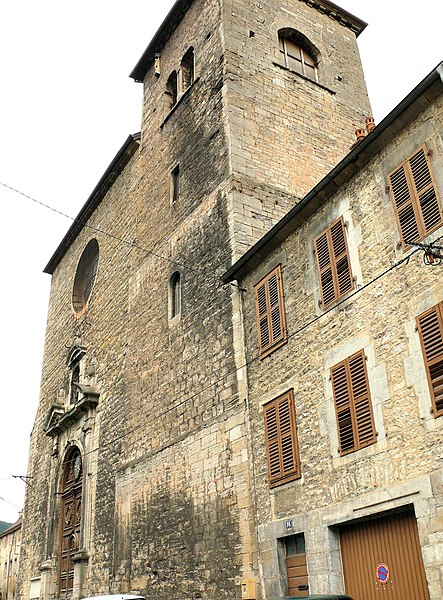 Photo du Monument Historique Eglise Notre-Dame situé à Salins-les-Bains