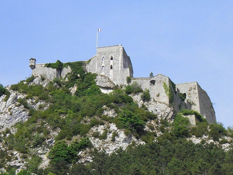 Photo du Monument Historique Fort Belin situé à Salins-les-Bains