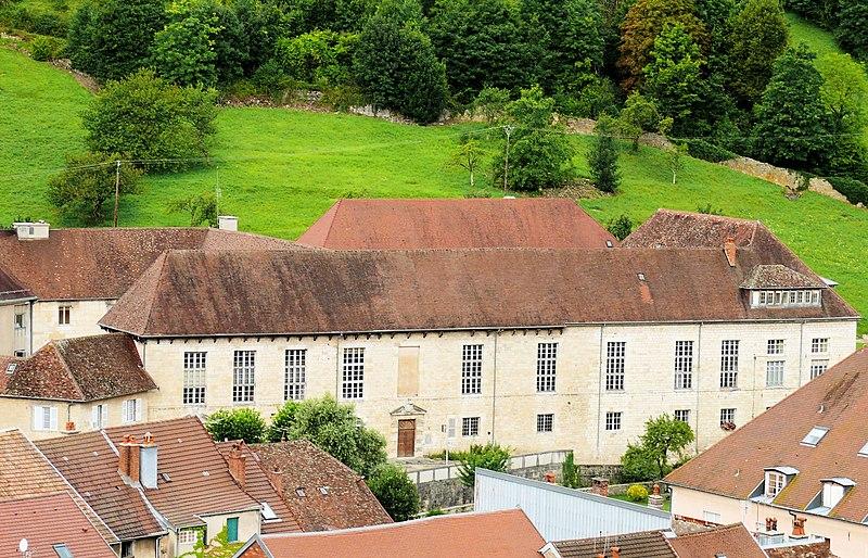 Photo du Monument Historique Hôpital situé à Salins-les-Bains