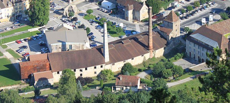 Photo du Monument Historique Anciennes salines royales de Salins-les-Bains, actuellement musée du sel situé à Salins-les-Bains