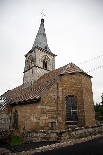 Photo du Monument Historique Eglise situé à Sirod