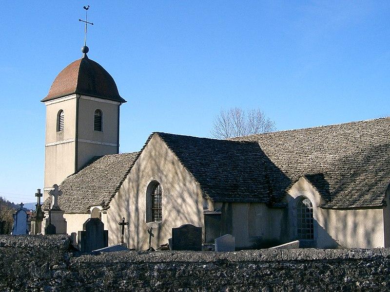 Photo du Monument Historique Eglise situé à Songeson