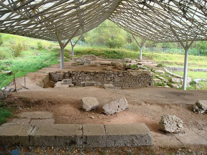 Photo du Monument Historique Vestiges gallo-romains situé à Villards-d'Héria