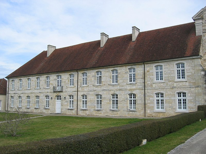 Photo du Monument Historique Abbaye cistercienne d'Acey situé à Vitreux
