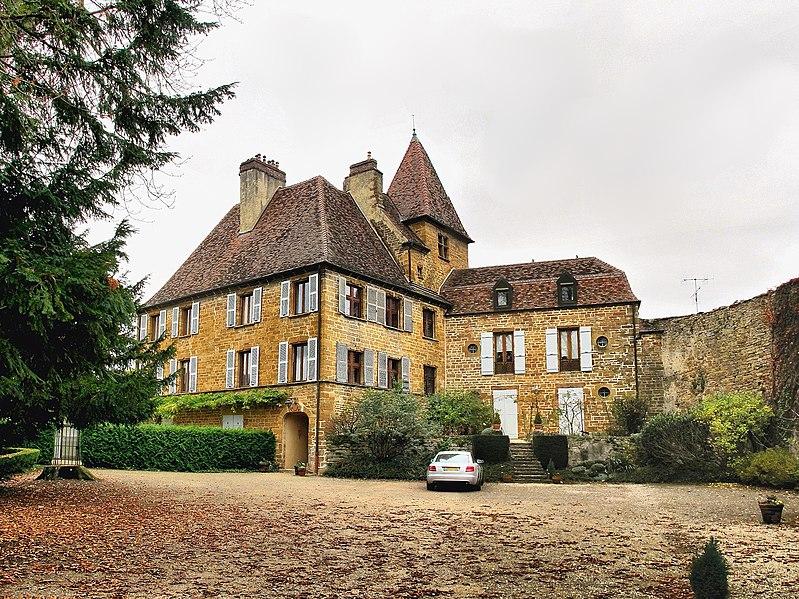 Photo du Monument Historique Château Bontemps situé à Arbois