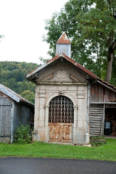 Photo du Monument Historique Oratoire Saint-Joseph situé à Foncine-le-Haut