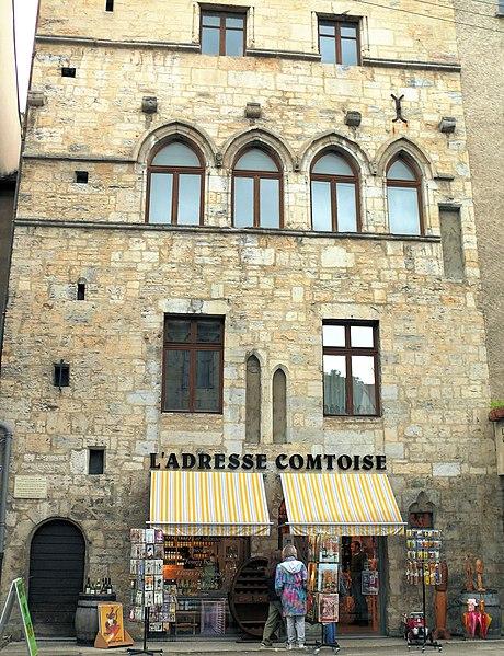 Photo du Monument Historique Maison situé à Salins-les-Bains