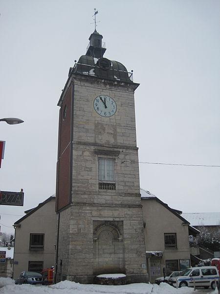 Photo du Monument Historique Château d'eau situé à Champagnole