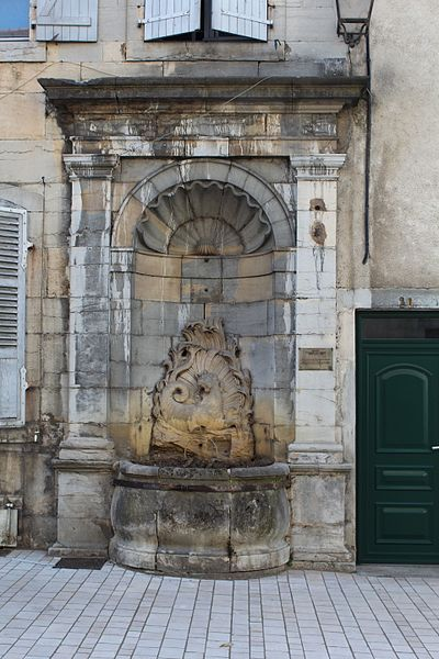 Photo du Monument Historique Fontaine du Cheval Marin situé à Poligny