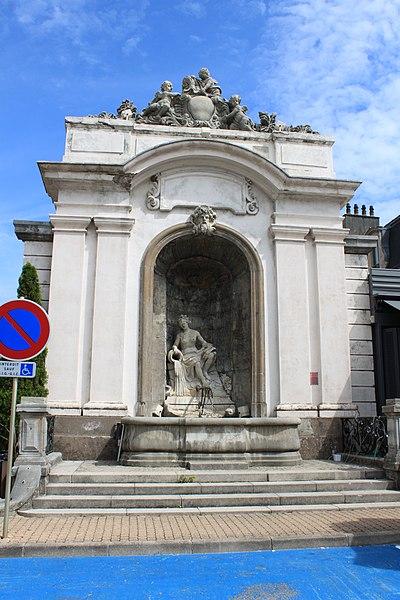 Photo du Monument Historique Fontaine Truchot situé à Salins-les-Bains