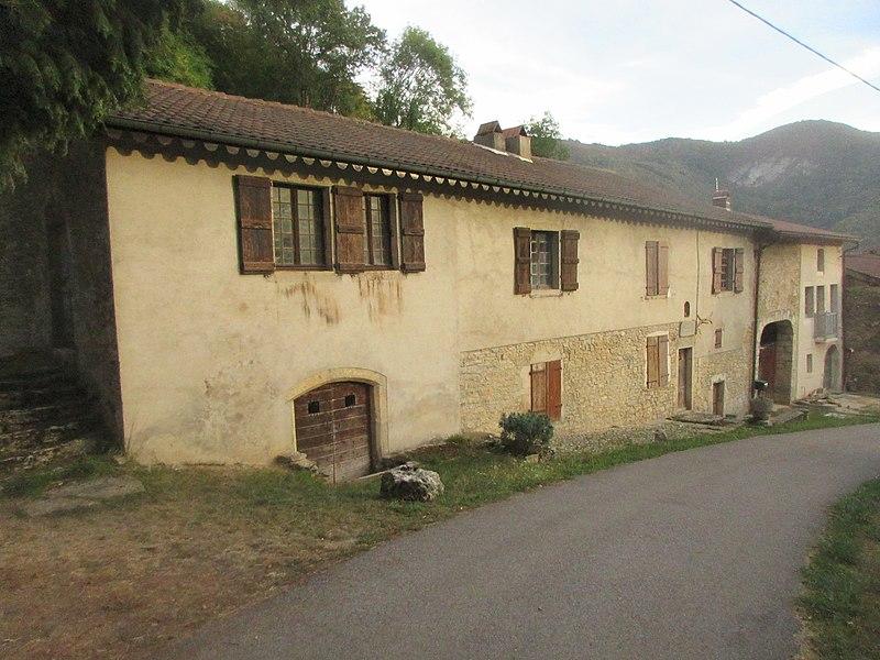 Photo du Monument Historique Maison natale de Xavier Bichat situé à Thoirette