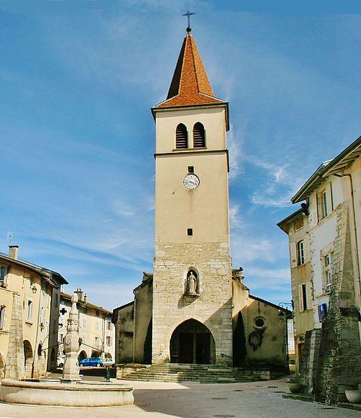 Photo du Monument Historique Eglise situé à Arinthod