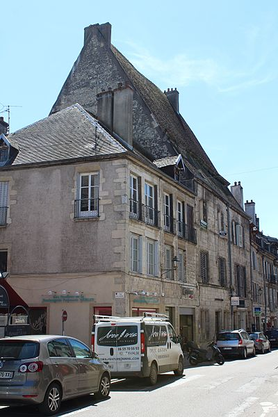 Photo du Monument Historique Demeure dite hôtel de Vurry situé à Dole