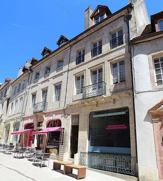 Photo du Monument Historique Hôtel de Vurry situé à Dole
