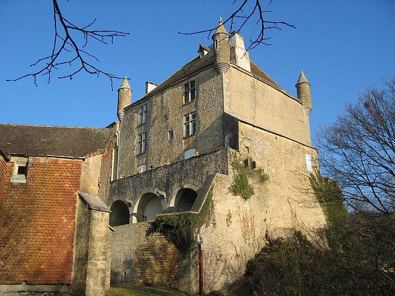 Photo du Monument Historique Château situé à Frontenay