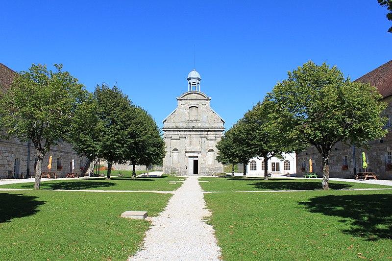 Photo du Monument Historique Fort Saint-André situé à Salins-les-Bains