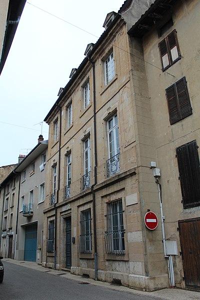 Photo du Monument Historique Hôtel Degland de Cessia, dit Maison Lamartine situé à Saint-Amour