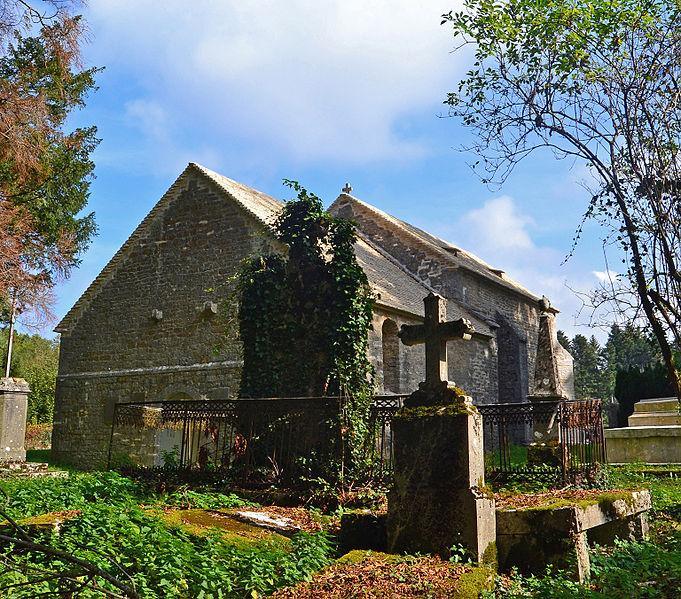 Photo du Monument Historique Chapelle Saint-Etienne et cimetière de Coldre situé à Briod