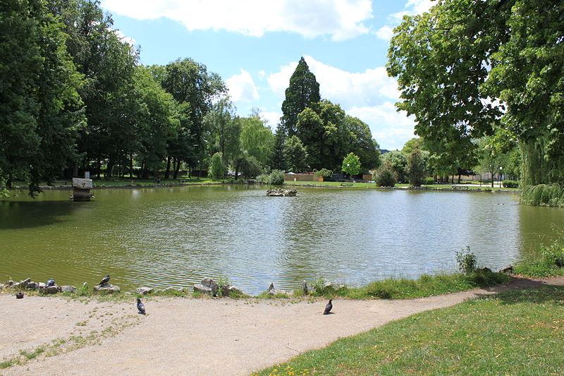 Photo du Monument Historique Parc Edouard Guénon situé à Lons-le-Saunier
