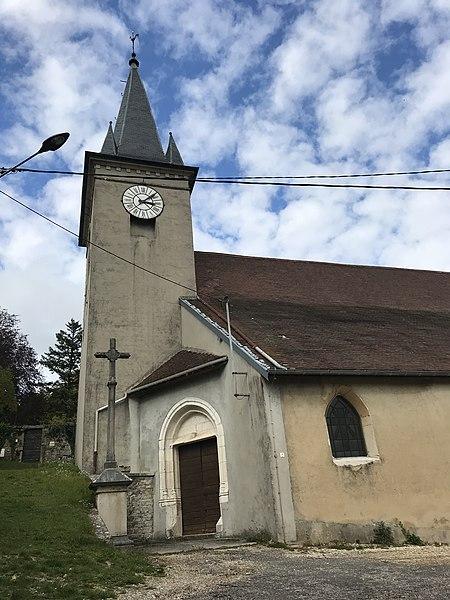 Photo du Monument Historique Eglise situé à Montfleur