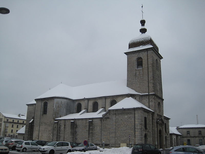 Photo du Monument Historique Eglise situé à Champagnole