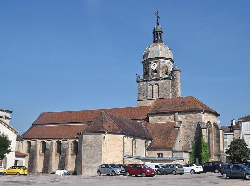 Photo du Monument Historique Eglise situé à Saint-Amour