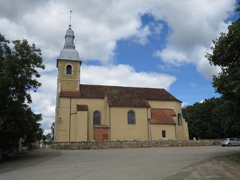 Photo du Monument Historique Eglise situé à Bersaillin