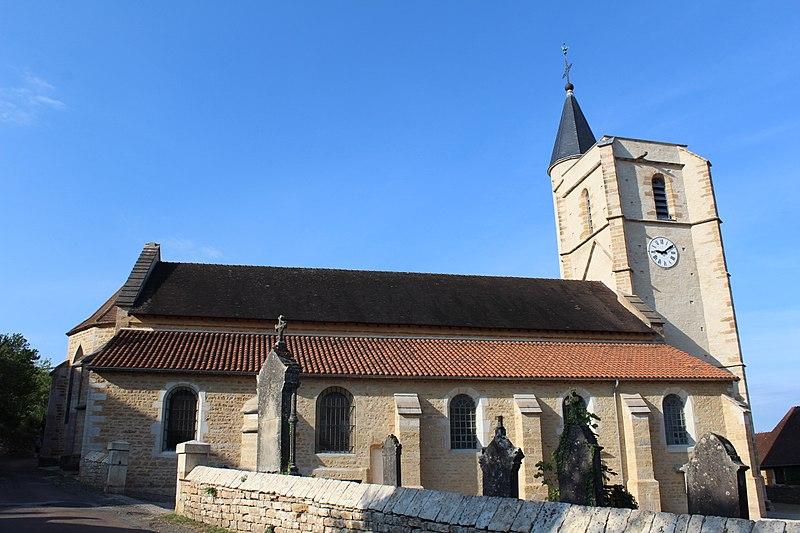 Photo du Monument Historique Eglise situé à Maynal