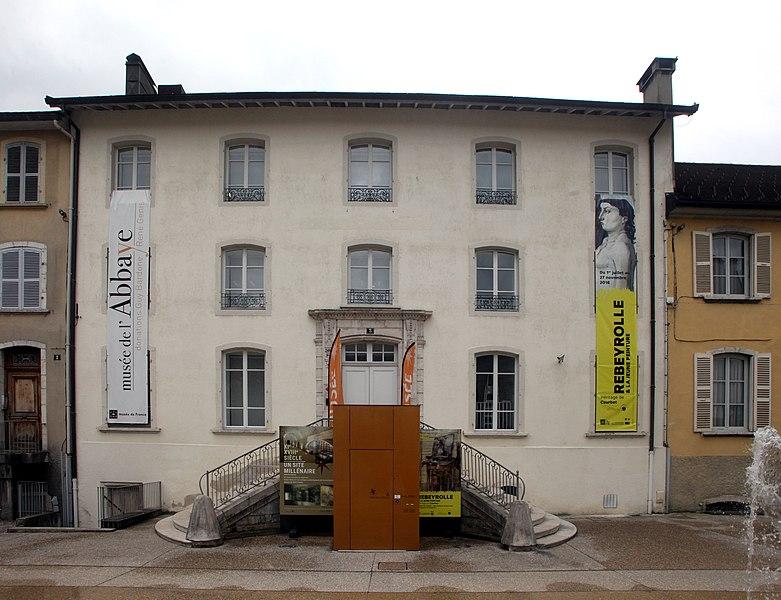 Photo du Monument Historique Ancien palais abbatial situé à Saint-Claude