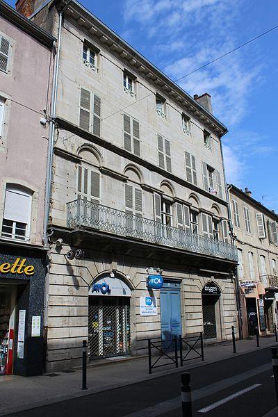 Photo du Monument Historique Immeuble situé à Lons-le-Saunier